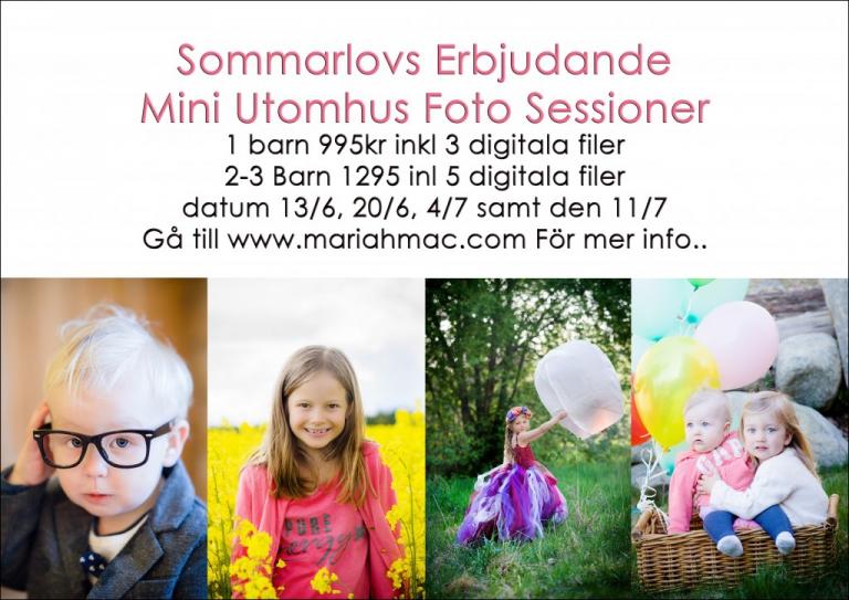 Mini sessions